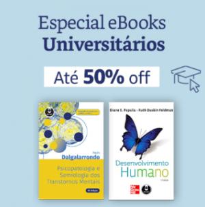 eBooks Universitários até 50% off
