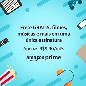 Assine hoje a Amazon Prime e tenha frete grátis e acesso a milhares de músicas e ebooks
