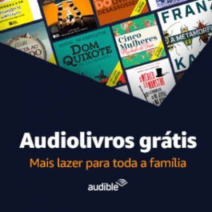 Book Friday Amazon: Audiolivros Grátis