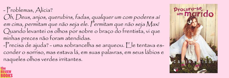 PROCURA-SE UM MARIDO | 5 CHICK-LIT QUE AMO | THEREVIEWBOOKS.COM.BR